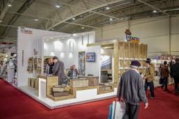غرفه هومتکس در نمایشگاه بین المللی لوازم خانگی