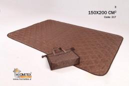 hometex medium brown camping mat g design