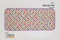 hometex large dish drying mat fruit design