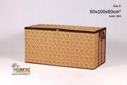 hometex large cream frameless clothing box