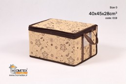 hometex medium cream framelss clothing box