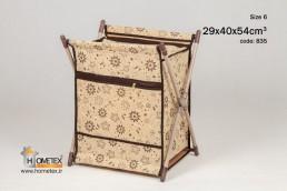 hometex large x-basket flower design