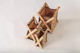 hometex small x-basket organizer